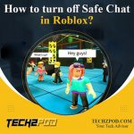 turn off safe chat roblox