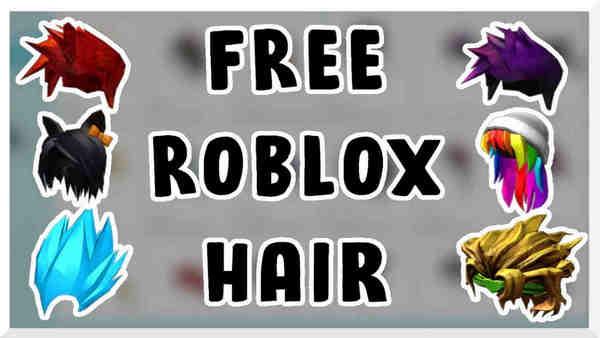 roblox hair codes
